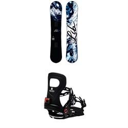 Lib Tech Cortado C2 Snowboard + Bent Metal Metta Snowboard Bindings - Women's 2021