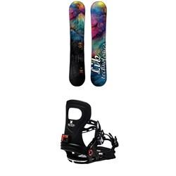 Lib Tech Glider BTX Snowboard + Bent Metal Metta Snowboard Bindings - Women's 2021