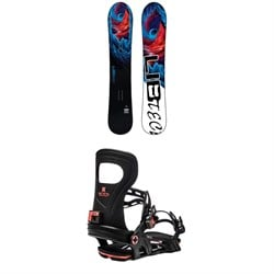 Lib Tech Dynamo C3 Snowboard ​+ Bent Metal Joint Snowboard Bindings 2021