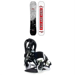 GNU Gloss C2 Snowboard ​+ B-Real Snowboard Bindings - Women's 2021