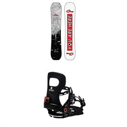 GNU Gloss C2 Snowboard ​+ Bent Metal Metta Snowboard Bindings - Women's 2021