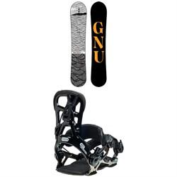 GNU T2B Snowboard + Psych Snowboard Bindings 2021