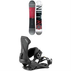 Nitro Team Snowboard + Team Snowboard Bindings 2021