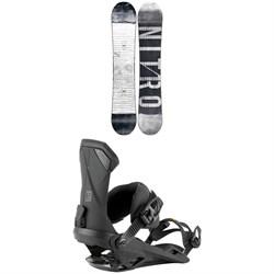 Nitro T1 Snowboard + Team Snowboard Bindings 2021