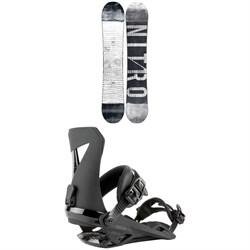 Nitro T1 Snowboard + Zero Snowboard Bindings 2021