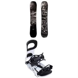Lib Tech Box Knife C3 Snowboard 2019 + Bent Metal Joint Snowboard Bindings