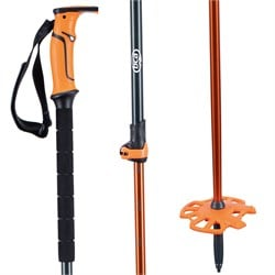 BCA Scepter Adjustable Aluminum Ski Poles 2021