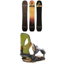 Arbor Bryan Iguchi Pro Rocker Snowboard + Cypress LTD Snowboard Bindings