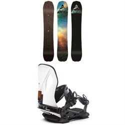 Arbor Bryan Iguchi Pro Camber Snowboard + Cypress LTD Snowboard Bindings