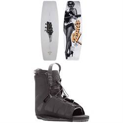 Ronix Press Play ATR + Hyperlite Frequency Wakeboard Package