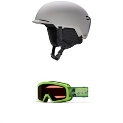 Smith Scout Jr. Helmet ​+ Rascal Goggles - Big Kids'