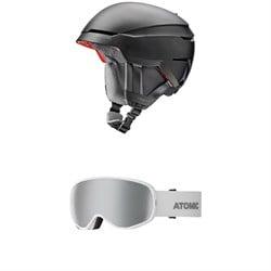 Atomic Savor Amid Helmet + Count S 360 HD Goggles