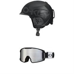 Oakley MOD 5 Helmet + Line Miner XM Goggles