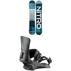 Nitro Prime Overlay Snowboard + Rambler Snowboard Bindings 2021