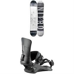 Nitro T1 Snowboard + Rambler Snowboard Bindings 2021