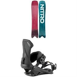 Nitro Squash Snowboard + Team Snowboard Bindings 2021