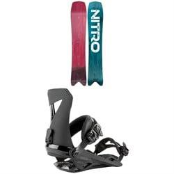 Nitro Squash Snowboard + Zero Snowboard Bindings 2021