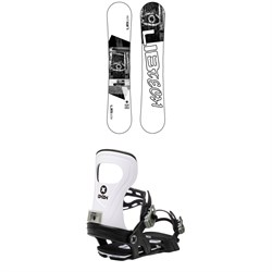 Lib Tech Austen Sweetin Skate Banana BTX Snowboard + Bent Metal Joint Snowboard Bindings 2021