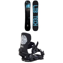 Lib Tech Box Knife C3 Snowboard ​+ Bent Metal Transfer Snowboard Bindings 2021