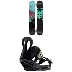 Never Summer Shade Snowboard - Women's  ​+ Burton Citizen Snowboard Bindings - Women's 2019