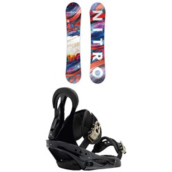 Nitro Lectra Snowboard - Women's  + Burton Citizen Snowboard Bindings - Women's 2019
