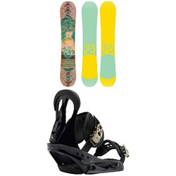Yes. Emoticon Snowboard - Women's  + Burton Citizen Snowboard Bindings - Women's 2019