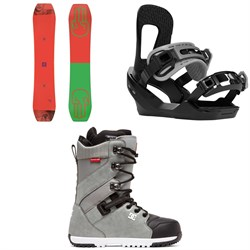 Bataleon Wallie Snowboard ​+ Switchback Destroyer Snowboard Bindings ​+ DC Mutiny Snowboard Boots