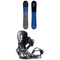 K2 Raygun Snowboard + Sonic Snowboard Bindings