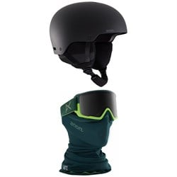 Anon Raider 3 Helmet + M3 MFI Goggles