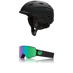 Smith Level MIPS Helmet ​+ Dragon NFX2 Goggles