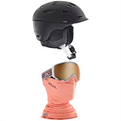 Anon Nova MIPS Helmet + WM1 MFI Goggles - Women's