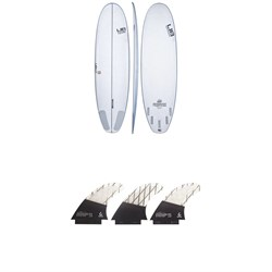 Lib Tech Pickup Stick Surfboard ​+ Lib Tech Tri Medium Fin Set