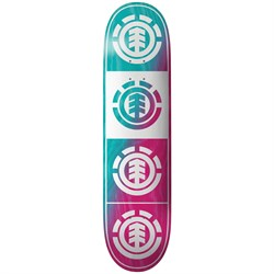 Element Quadrant Teal Pink 8.0 Skateboard Deck