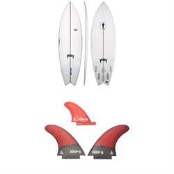 Lib Tech x Lost KA Swordfish Surfboard + Lib Tech Twin + Trailer Fin Set