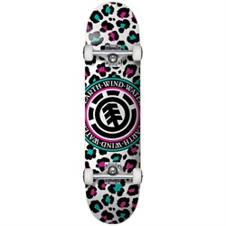 Element Leopard Party 7.7 Skateboard Complete