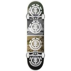 Element Camo Quadrant 7.7 Skateboard Complete