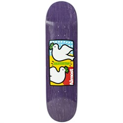 Almost Sky Brown Skateistan Double Dove R7 8.0 Skateboard Deck