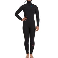 Billabong 5​/4 Synergy Chest Zip Hooded Wetsuit - Women's