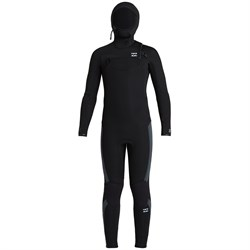 Billabong 5​/4 Absolute Chest Zip Hooded Wetsuit - Boys'