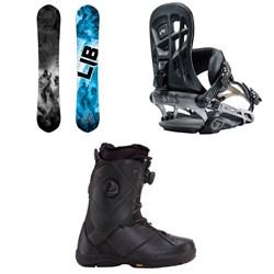 Lib Tech T.Rice Pro HP C2 Snowboard + Rome 390 Boss Snowboard Bindings + K2 Maysis Snowboard Boots