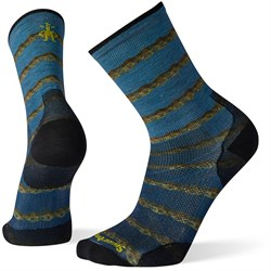 Smartwool PhD Cycle Ultra Light Chains Print Crew Socks