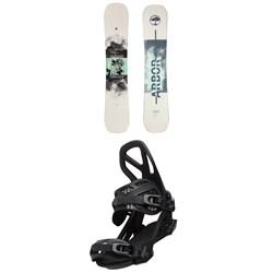 Arbor Draft Camber Snowboard + Hemlock Snowboard Bindings 2021