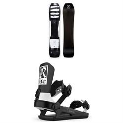 Ride Superpig Snowboard + Ride C-8 Snowboard Bindings 2021