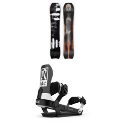 Ride MTNpig Snowboard + Ride A-10 Snowboard Bindings 2021