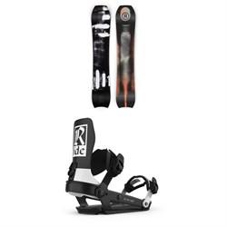 Ride MTNpig Snowboard + Ride A-6 Snowboard Bindings 2021