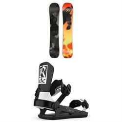 Ride Berzerker Snowboard + Ride C-8 Snowboard Bindings 2021