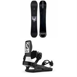 Ride Wildlife Snowboard + Ride C-6 Snowboard Bindings 2021