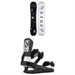 Ride Algorythm Snowboard + Ride C-8 Snowboard Bindings 2021