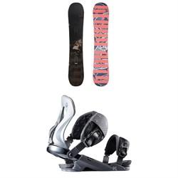 Rossignol Jibsaw Heavy Duty Snowboard + XV Snowboard Bindings 2020