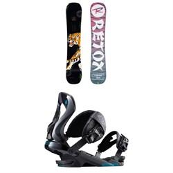 Rossignol Retox Snowboard 2020 + Cobra Snowboard Bindings 2019